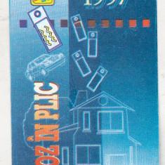 Bnk cld Calendar de buzunar 1997 - Loteria Nationala