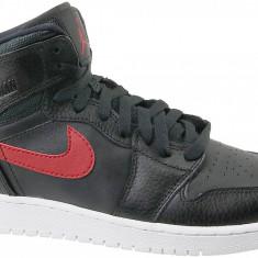 Pantofi adidași Jordan 1 Retro High BG 705300-012 pentru Copii, 36.5, 37.5, 38, 38.5, Negru