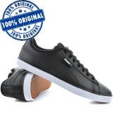 Pantofi sport Puma Urban Plus pentru barbati - adidasi originali - piele, 41, 42, 42.5, 43, 44, Negru, Piele naturala