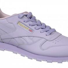 Pantofi sport Reebok Classic Leather BD5543 pentru Copii, 34.5, 35, 36, 36.5, 37, 38, Violet