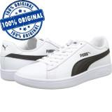 Pantofi sport Puma Smash 2 pentru femei - adidasi originali - piele naturala, 36, 37, 37.5, 38, 38.5, 39, 40.5, Alb