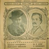 Caragiale si Eminescu in Flacara, revista literara (nr. 37 din 1914)