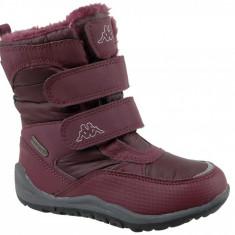 Pantofi de iarna Kappa Tundra Tex K 260484K-2525 pentru Copii, 28, 30, 35, Rosu