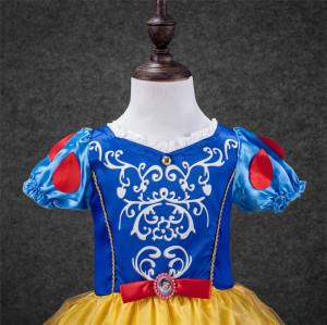 Rochita Alba ca Zapada , Rochie petrecere 3, 4, 5, 6, 7, 8 ani