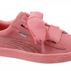 Pantofi sport Puma Suede Heart SNK Jr 364918-05 pentru Copii