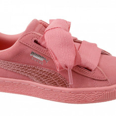 Incaltaminte sneakers Puma Suede Heart SNK Jr 364918-05 pentru Copii