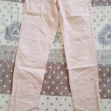 Pantaloni H&M, 36, Roz