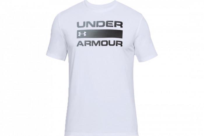 Tricou UA Team Issue Wordmark Tee 1314002-100 pentru Barbati