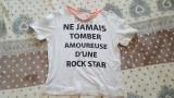 Tricou Zara, S, Alb