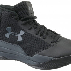Pantofi de baschet Under Armour BGS Jet 2017 1296009-001 pentru Copii, 38.5, Negru