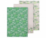 Set 3 prosoape de bucatarie Parsley 40x60 cm