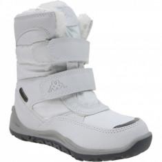 Pantofi de iarna Kappa Tundra Tex K 260484K-1010 pentru Copii, 28, 35, Alb