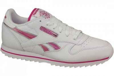 Pantofi sport Reebok CL Lthr Ripple III V59227 pentru Copii foto