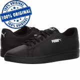 Pantofi sport Puma Smash 2 Perf pentru barbati - adidasi originali - piele, 44.5, Negru, Piele naturala