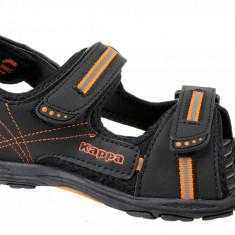 Sandale sport Kappa Korfu K 260448K-1144 pentru Copii, 29, 32 - 34, Negru