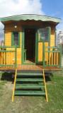 Rulotă din lemn/ case mobile/ cafenele mobile/ căruțe street food