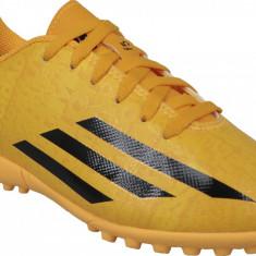 Cizme de fotbal gazon adidas F5 Messi TF Jr M25053 pentru Copii, Galben