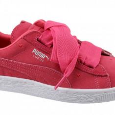 Incaltaminte sneakers Puma Suede Heart Jr 365135-01 pentru Copii