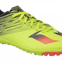 Cizme de fotbal gazon Adidas Messi 15.3 TF S74696 pentru Barbati, 42, 44, 44 2/3, Galben