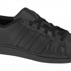 Pantofi sport adidas Superstar J Foundation B25724 pentru Copii, 35.5, 36, 36 2/3, 37 1/3, Negru