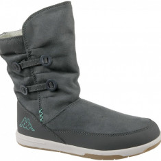 Pantofi de iarna Kappa Cream K 260513K-1337 pentru Copii, 31, Gri