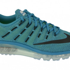 Pantofi sport Nike Air Max 2016 806771-400 pentru Barbati, 44.5, 45.5, Albastru