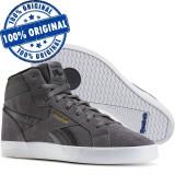 Pantofi sport Reebok Royal Complete 2MS pentru barbati - piele intoarsa, 40, Gri