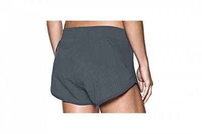 Pantaloni scurti Under Armour Launch Tulip Refl Prtd Short 2.5'' 1294855-008 pentru Femei foto