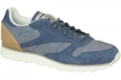 Pantofi sport Reebok CL Leather Fleck AQ9722 pentru Barbati foto