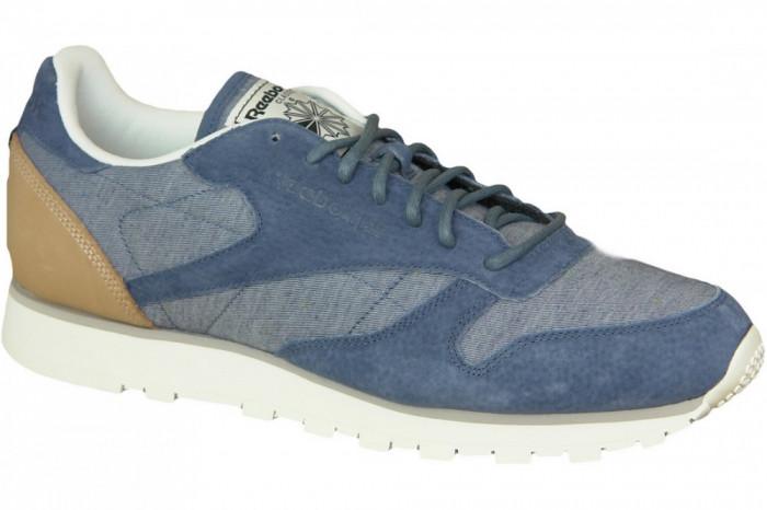 Pantofi sport Reebok CL Leather Fleck AQ9722 pentru Barbati