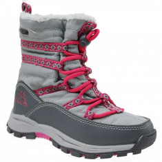 Pantofi de iarna Kappa Farvel Tex K 260492K-1622 pentru Copii, 29, 33 - 35, Gri
