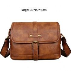 POLO VICUNA - geanta de umar din piele  ecologica 30x27x6 cm