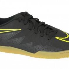 Încălțăminte de sală Nike Hypervenomx Phelon II IC JR 749920-009 pentru Copii, 36, 36.5, 37.5, 38, 38.5, Negru