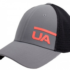 Șapcă Under Armour Men's Train Spacer Mesh Cap 1305446-040 pentru Barbati, M/L, Gri