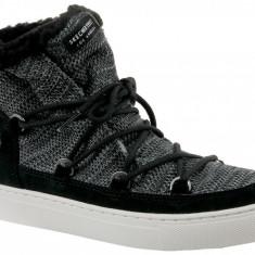 Pantofi de iarna Skechers Side Street 73578-BLK pentru Femei, 37, 38, 40, Negru