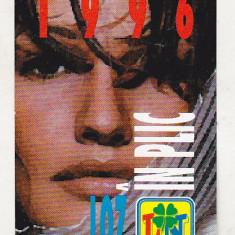 Bnk cld Calendar de buzunar 1996 - Loteria Nationala