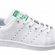 Pantofi sport adidas Stan Smith J M20605 pentru Copii, 35.5, 36, 36 2/3, Alb