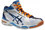 Pantofi de volei Asics Gel Volley Elite 2 MT B300N-0150 pentru Barbati, 50.5, Alb
