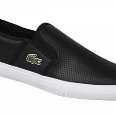Pantofi sport Lacoste Gazon BL 1 CAM1072024 pentru Barbati, Negru