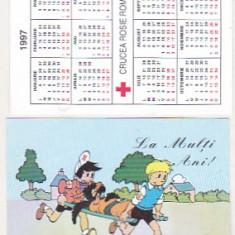Bnk cld Calendar de buzunar 1997 - Crucea Rosie