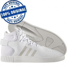 Pantofi sport Adidas Originals Tubular Invader pentru barbati - originali, 40, 43 1/3, 44, Alb, Piele naturala