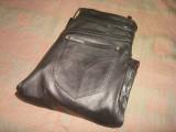 Pantaloni din piele naturala pentru barbati/moto/motor/motociclist/clasici/Noi !