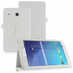 Husa Tableta Samsung Galaxy Tab E 8.0 inch culoare alba. T375 T377  TAB833