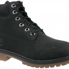 Trekking pantofi Timberland 6 In Premium Boot A14ZO pentru Copii, 35.5, 36, 37, 37.5, 38, 39, 39.5, 40, Negru