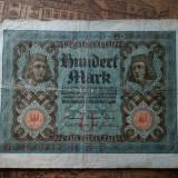 100 mark din 1 noiembrie 1920