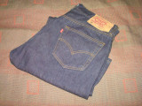 LEVIS/LEVI'S STRAUSS & CO 501/Jeans/Jeansi/Blugi/barbati/clasici/drepti/indigo, 36, Lungi