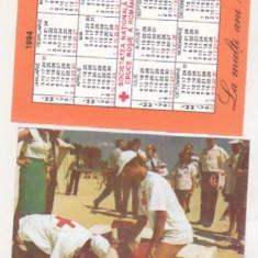 Bnk cld Calendar de buzunar 1994 - Crucea Rosie