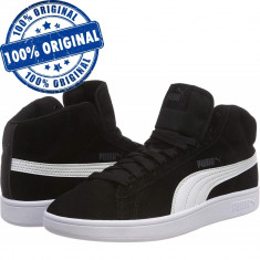 Pantofi sport Puma Smash Mid pentru barbati - ghete originale - piele intoarsa