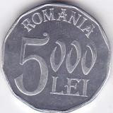 Moneda Romania 5.000 Lei 2003 - KM#158 UNC