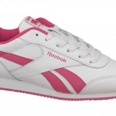 Pantofi sport Reebok Royal CL Jogger 2 V70489 pentru Copii, 35, 36, 36.5, 37, 38, 38.5, 39, Alb